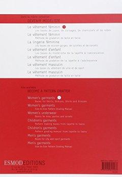 Livres Couvertures de Le vêtement féminin : Tome 2, Les bases du tailleur-manteau et du pantalon, édition bilingue français-anglais