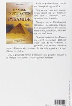 Livres Couvertures de Manuel d'utilisation de la pyramide