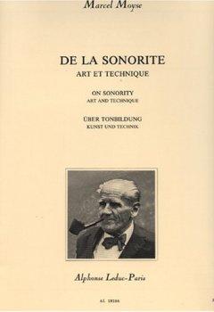 Livres Couvertures de DE LA SONORITE ART ET TECHNIQUE FLUTE