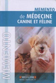 Livres Couvertures de Mémento de médecine canine et féline