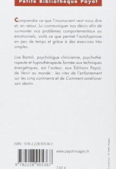 Livres Couvertures de Se libérer par l'hypnose. 10 exercices d'auto-hypnose