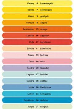 Livres Couvertures de Antalis ColorAction Ramette 500 feuilles papier couleur pour Imprimante jet d'encre/laser/Copieur 80g A4 Sevilla Jaune soleil