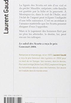 Livres Couvertures de Le soleil des Scorta - Prix Goncourt 2004