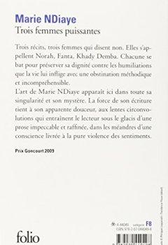 Livres Couvertures de Trois femmes puissantes - Prix Goncourt 2009