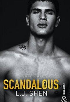 Livres Couvertures de Scandalous: après Vicious et Devious, découvrez la suite de LA série New Adult 2018 : SINNERS