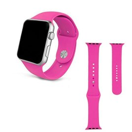 Apple-watch-bandSoft-Silicone-Sport-Style-Replacement-for-38mm-Apple-Watch-All-Models-3-Pieces-of-Bands-Included-for-2-Lengths