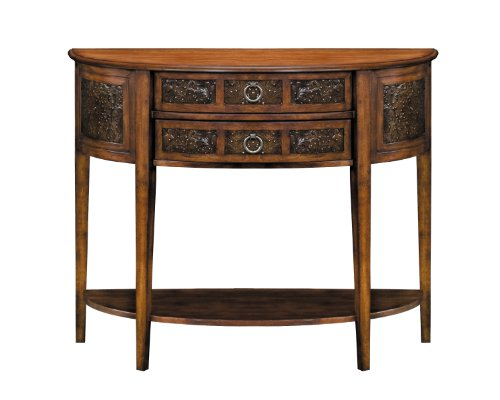 Image of Charleston Demilune Console Table - Stein World 11480 (B003PYZC7Y)