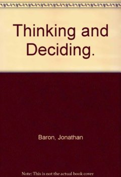Livres Couvertures de Thinking and Deciding