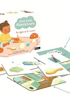 Livres Couvertures de Tout petit Montessori - cartes classifiées : les objets de la maison - Dès 15 mois