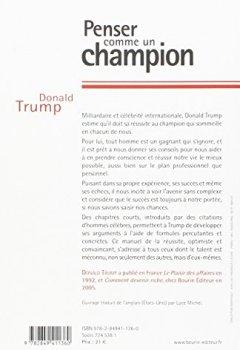 Livres Couvertures de Penser comme un champion : Guide d'éducation informelle sur l'art de mener sa vie et ses affaires