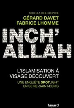 Livres Couvertures de Inch'allah : l'islamisation à visage découvert