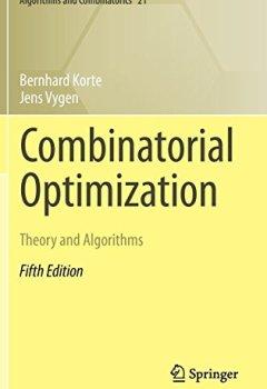 Livres Couvertures de Combinatorial Optimization : Theory and Algorithms