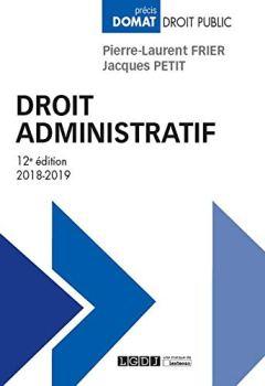 Livres Couvertures de Droit administratif
