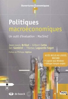Livres Couvertures de Politiques macroéconomiques, un outil d'évaluation : MacSim2