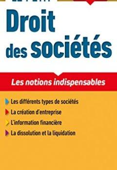 Livres Couvertures de Le petit Droit des sociétés 2018 - 11e ed. - Les notions indispensables