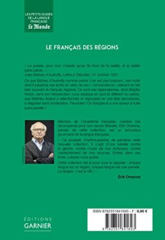 Livres Couvertures de Le français des régions