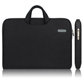 Arvok-Water-resistant-Canvas-Fabric-Laptop-Sleeve-With-Handle-Zipper-PocketNotebook-Computer-CaseUltrabook-Tablet-Briefcase-Carrying-BagPouch-Skin-Cover-For-AcerAsusDellLenovoHPSamsungSony