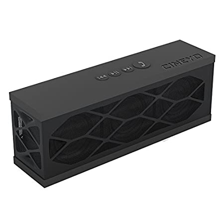 The CINEYO MIni Bluetooth speaker offers great quality sound with Bluetooth 3.0 technology. It features two highly powerful 40mm total 6W acoustic drivers for excellent sound. With the ultra-compact size and the soft touch rubber design, it can be ea...