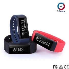 OUMAX-FIT-T3-Activity-and-Fitness-Tracker-Pack-Includes-3-Colored-Bands