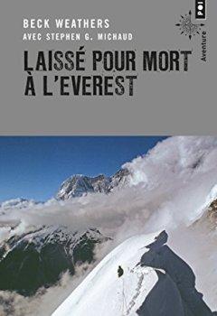 Livres Couvertures de Laissé pour mort à l'Everest