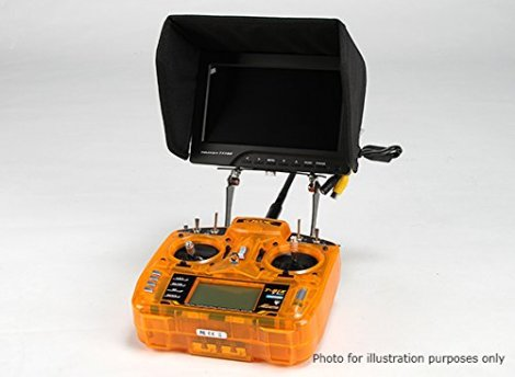 Universal-Carbon-FPV-Monitor-To-Transmitter-Mount-System