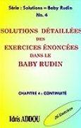 SOLUTIONS DÉTAILLÉES DES EXERCICES ÉNONCÉS DANS LE BABY RUDIN: CHAPITRE 4 : CONTINUITÉ (SOLUTIONS - BABY RUDIN)