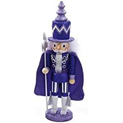 Kurt S. Adler, HA0242C, Purple Nutcracker