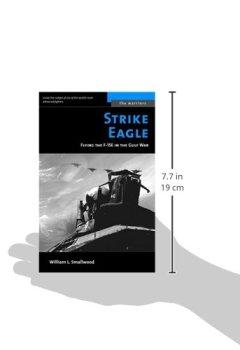 Buchdeckel von Strike Eagle: Flying the F-15E in the Gulf War (The Warriors)