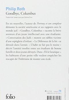Livres Couvertures de Goodbye, Columbus