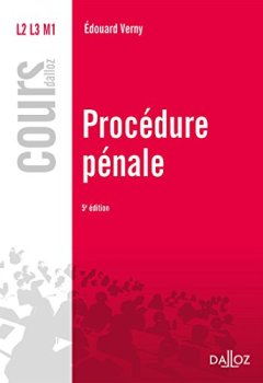 Livres Couvertures de Procédure pénale - 5e éd.