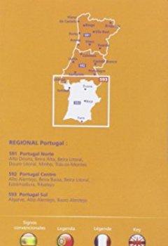 Livres Couvertures de Carte Portugal Sud Michelin