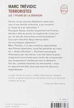 Livres Couvertures de Terroristes : les sept piliers de la déraison