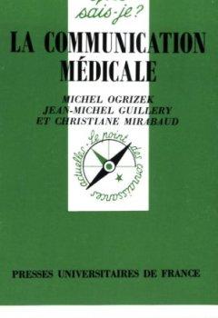 Livres Couvertures de La communication médicale