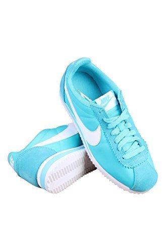 Nike Damen Wmns Classic Cortez Nylon Turnschuhe, Azul (Gamma Blue / White), 38 1/2 EU