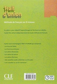 Livres Couvertures de Trait d'union 1 - Niveau A1 - Cahier d'exercices