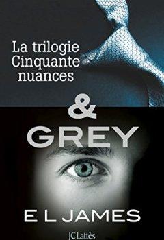 Livres Couvertures de Intégrale Cinquante nuances de Grey : La trilogie Cinquante nuances de Grey & Grey (Romans étrangers)