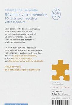 Livres Couvertures de Réveillez votre mémoire : 90 tests pour réactiver votre mémoire