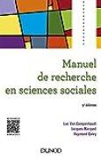 Manuel de recherche en sciences sociales - 5e éd.