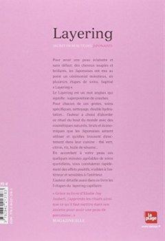 Livres Couvertures de Layering, secret de beauté des Japonaises