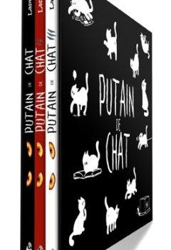 Livres Couvertures de Putain de Chats - Le coffret