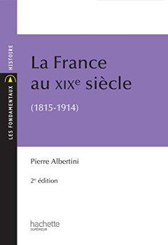 Livres Couvertures de La France du XIXe siècle (1815-1914)