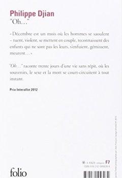 Livres Couvertures de Oh... - Prix Interallié 2012