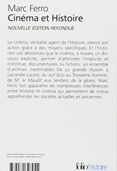 Livres Couvertures de Cinéma et Histoire