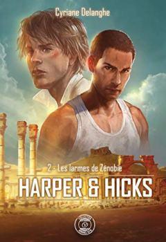 Livres Couvertures de Harper & Hicks: 2 - Les larmes de Zénobie