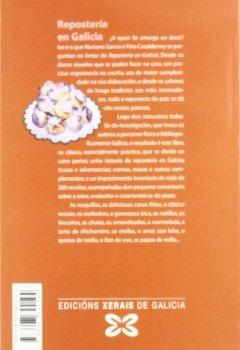 Portada del libro deRepostería en Galicia: Lambetadas de onte a hoxe. 219 receitas (Turismo/Ocio - Montes E Fontes - Gastronomía)