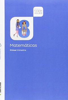 Portada del libro deMatematicas 6 Primary Saber Hacer