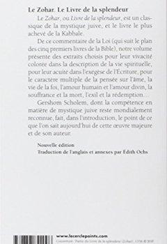 Livres Couvertures de Le Zohar. Le Livre de la splendeur