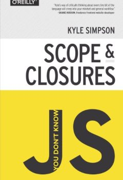 Livres Couvertures de You Don't Know JS: Scope & Closures