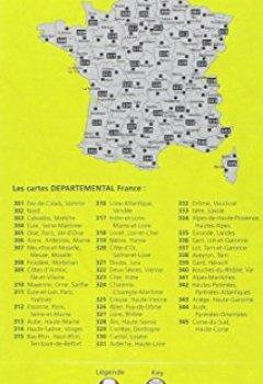 Livres Couvertures de Carte Finistère, Morbihan Michelin