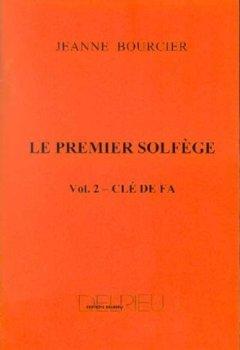 Livres Couvertures de Le premier solfège, volume 2 - Clé de Fa (pour les jeunes pianistes)